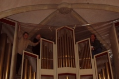 Sturmschaden 2007 - Orgel