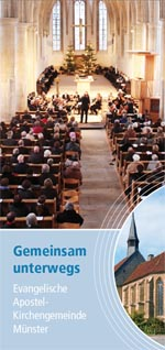 Flyer Apostelkirche Konzeption