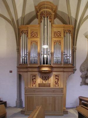 Orgel Johanneskapelle