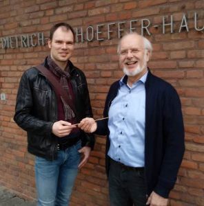 Konrad Paul und Klaus Vetter