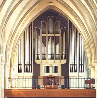 Die Orgel der Apostelkirche