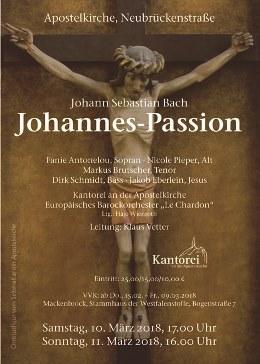 2018 Johannes Passion