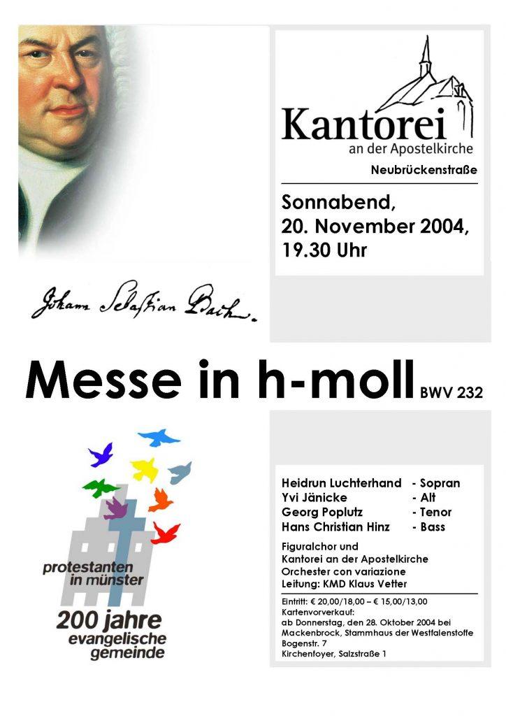 2004 h-Moll-Messe