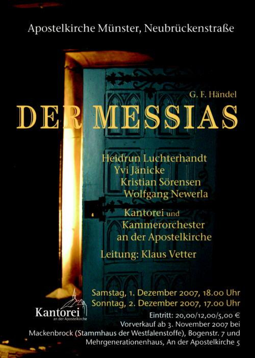 2007 Messias Plakat