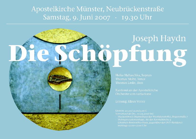 2007 Haydn - Die Schöpfung