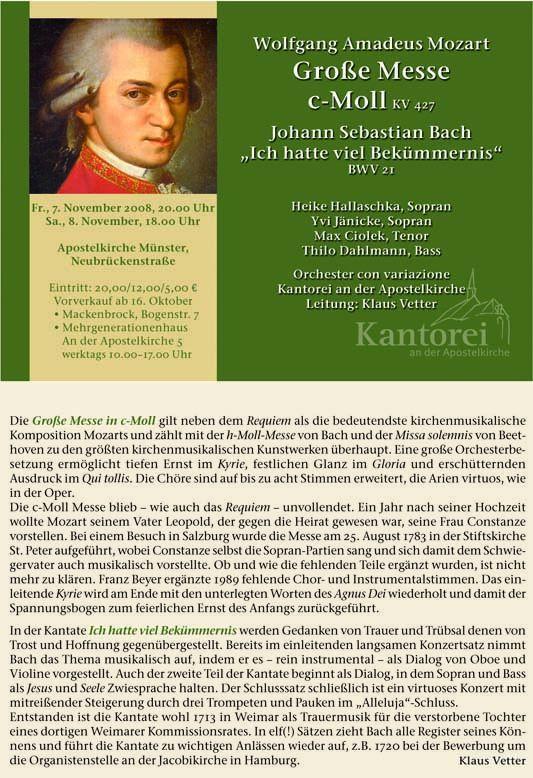 2008 Mozart c-Moll-Messe