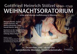 2011 Stölzel Plakat