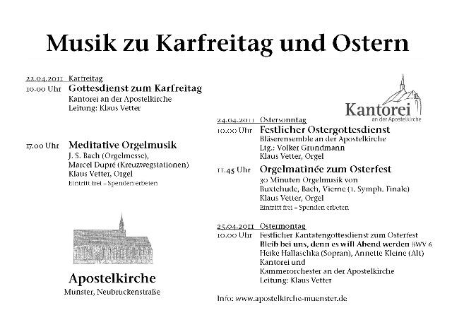 2011 Osterplakat