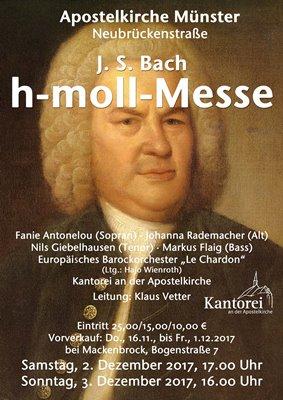 Bach h-Moll Messe Plakat