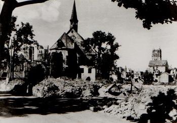 Apostelkirche 1945