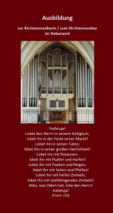 C-Musik Werbeflyer