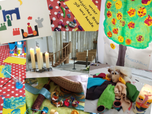 Eindrücke aus der Kinderkirche